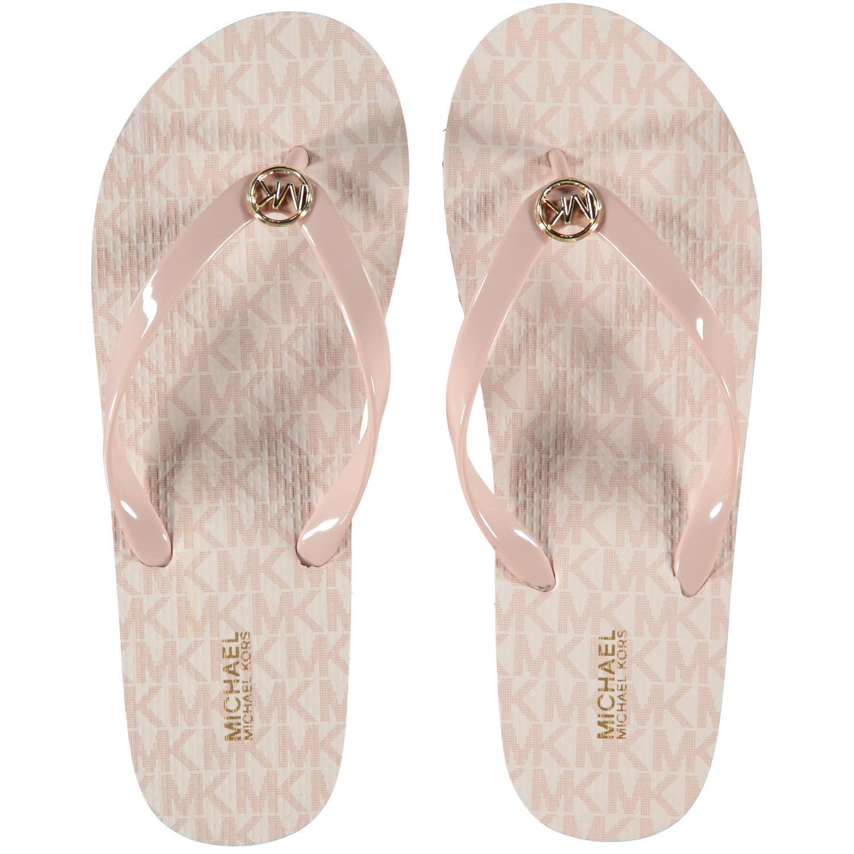 7341d5aa3db Michael Kors 40S7Mkfa4Q dames dames slippers licht roze bij Coccinelle