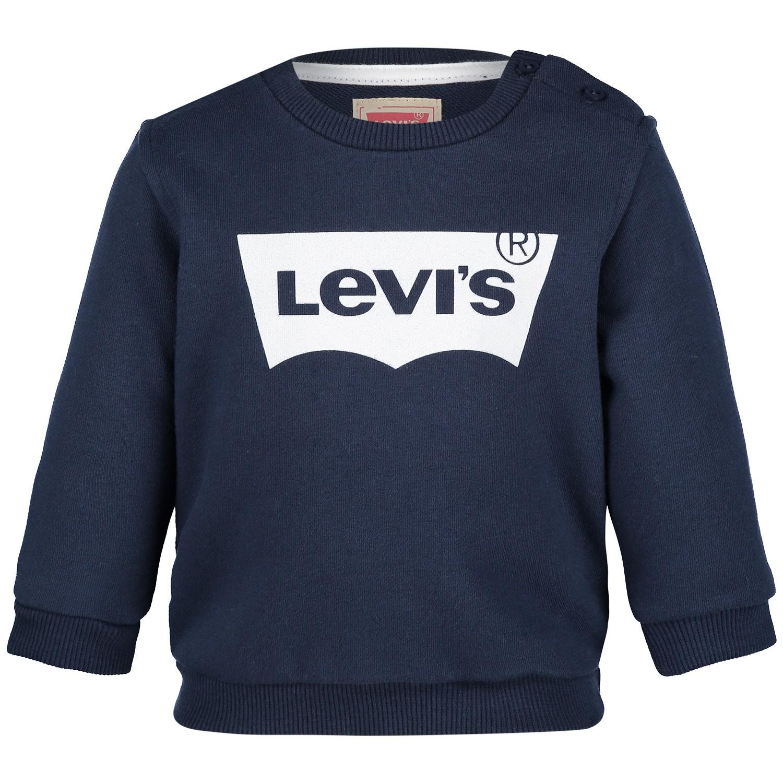 Afbeelding van Levi's NN15004 baby trui navy