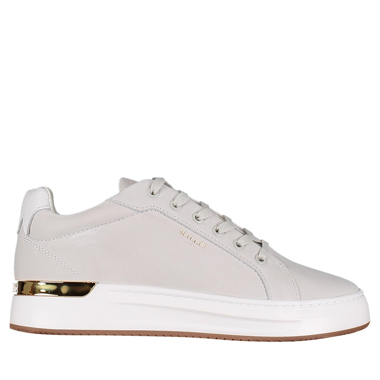 Afbeelding van Mallet TE1055 heren sneakers wit