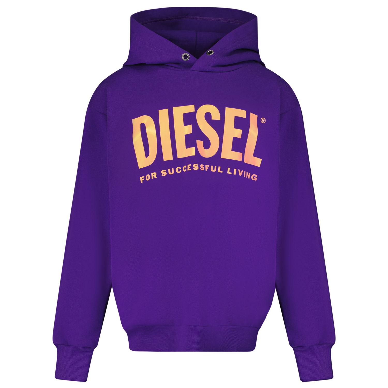 Afbeelding van Diesel J00094 kindertrui paars