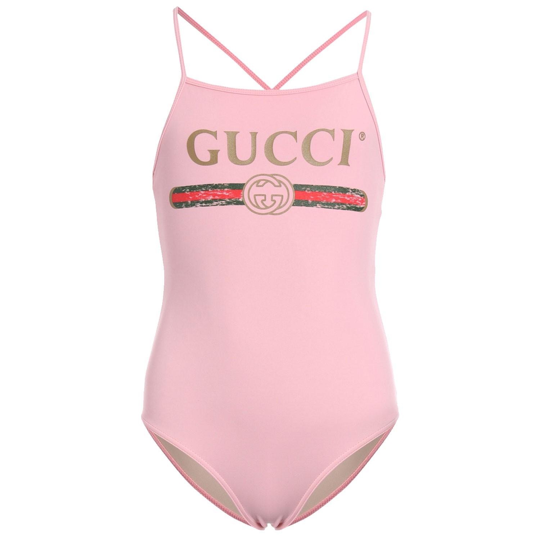 Afbeelding van Gucci 554359 baby badkleding licht roze