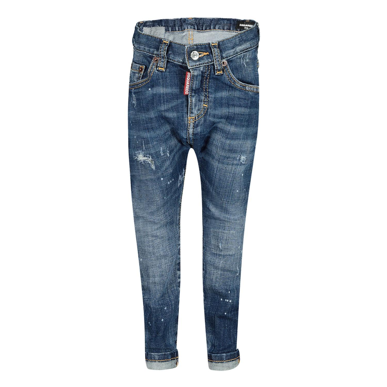 Afbeelding van Dsquared2 DQ01TC D00VQ babybroekje jeans