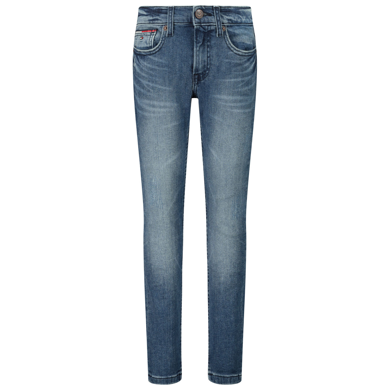Afbeelding van Tommy Hilfiger KB0KB06047 kinderbroek jeans