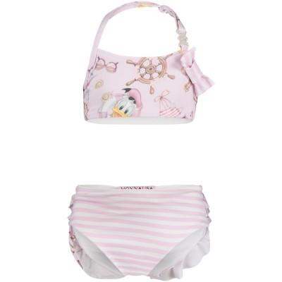 Afbeelding van MonnaLisa 931002 baby bikini licht roze