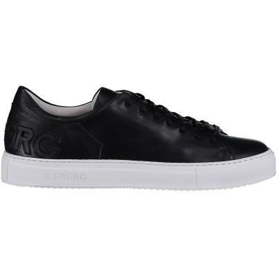 Afbeelding van Iceberg IU903 A heren sneakers zwart