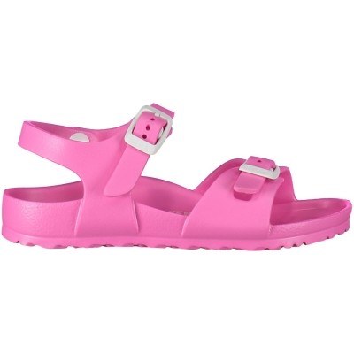 Afbeelding van Birkenstock EVA RIO kindersandalen fluor roze