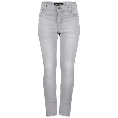 Picture of Antony Morato MKDT00053W01089 kids jeans light gray