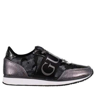 Afbeelding van Guess FLSNG3FAB12 dames sneakers zwart