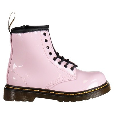 Picture of Dr. Martens 22259688 kids boots light pink