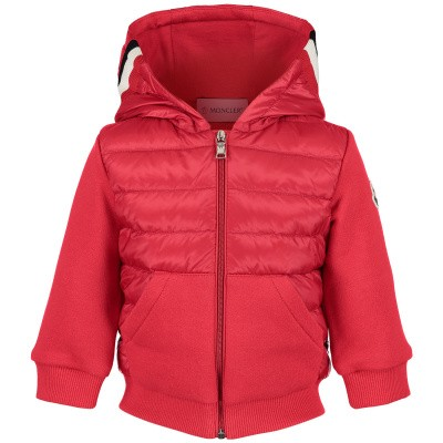 Picture of Moncler 8416105 baby vest red