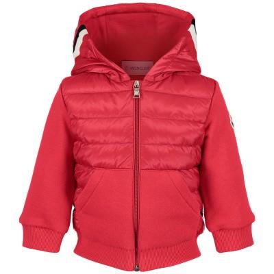 Afbeelding van Moncler 8416105 baby vest rood