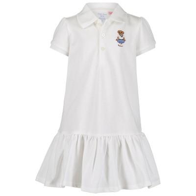 Picture of Ralph Lauren 743490 baby dress white