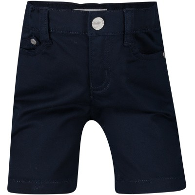 Picture of Armani 8NHS01 baby shorts navy