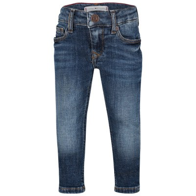 Picture of Tommy Hilfiger KG0KG04018B baby pants jeans