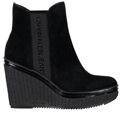 Picture of Calvin Klein SHANNA womens boots black