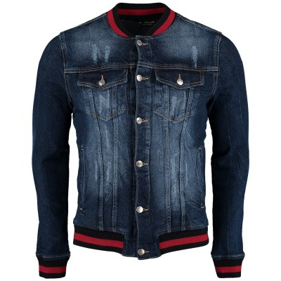 Picture of My Brand MMBJA043G3001 mens coat jeans