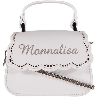 6a930c40c2f Afbeelding van MonnaLisa 17CBAP kindertas wit