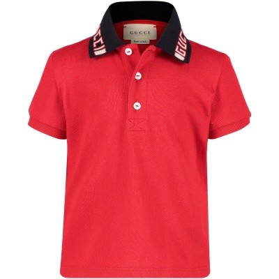 Afbeelding van Gucci 522346 baby polo rood