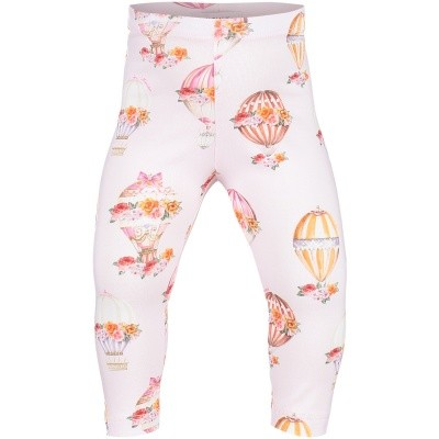 Picture of MonnaLisa 312408 baby legging light pink