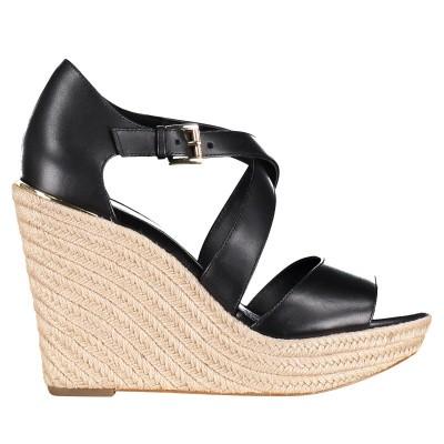 Afbeelding van Michael Kors 40S9ABHS1L dames sandalen zwart
