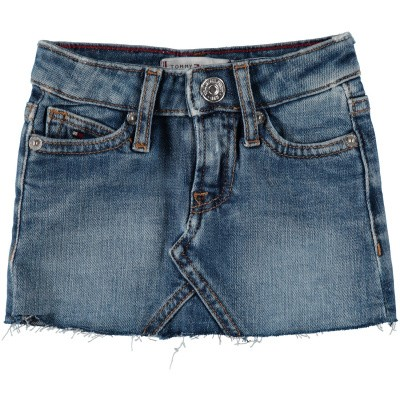 Picture of Tommy Hilfiger KG0KG04300 B baby skirt jeans