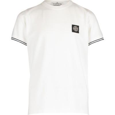 Afbeelding van Stone Island 701620348 kinder t-shirt wit