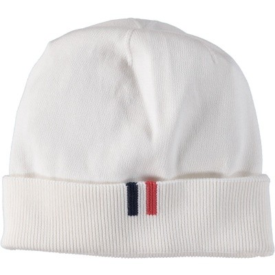 Picture of Moncler 9922200 baby hat off white