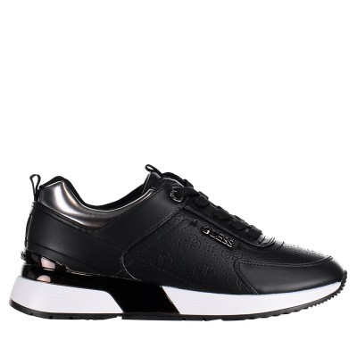 Picture of Guess FL5MRLFAL12 womens sneakers black