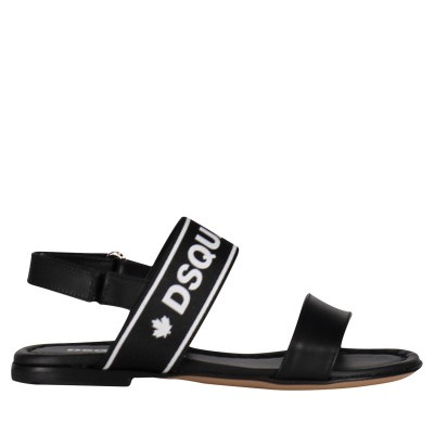 Picture of Dsquared2 59752 kids sandals black