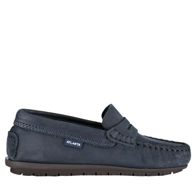 Picture of Atlanta NB031 kids shoes navy