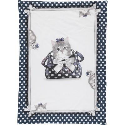 Afbeelding van MonnaLisa 352010 baby deken off white