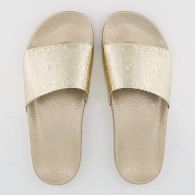 Picture of Cruyff CC6361191530 womens flipflops gold