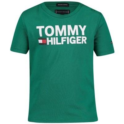 Afbeelding van Tommy Hilfiger KB0KB04078B baby t-shirt groen