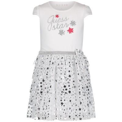Picture of Guess K91K15 kids dress white