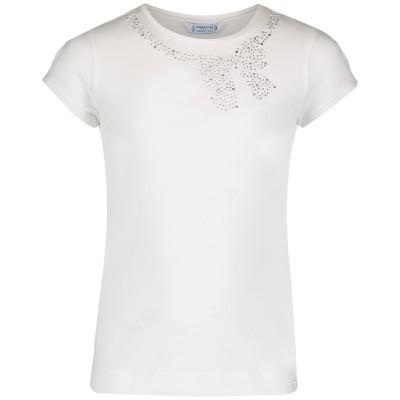 Afbeelding van Mayoral 174 kinder t-shirt wit