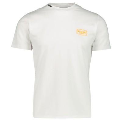 Afbeelding van My Brand MMBTS0032 heren t-shirt fluor oranje