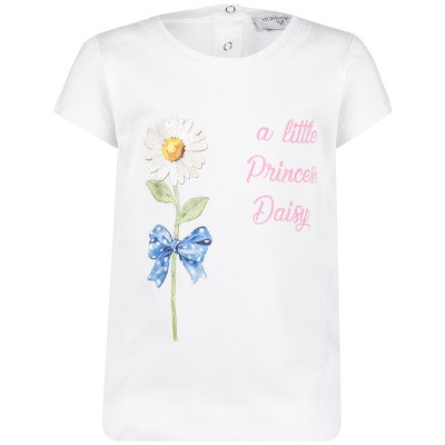 Picture of MonnaLisa 393600S6 baby shirt white