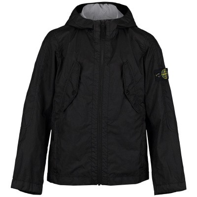 Picture of Stone Island 701640333 kids jacket black
