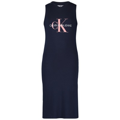 Picture of Calvin Klein IG0IG00126 kids dress navy
