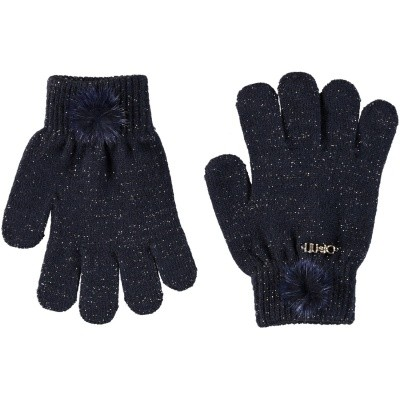 Afbeelding van Liu Jo K68122 kinder handschoenen navy