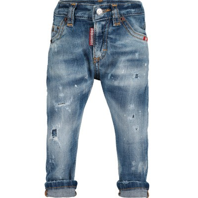 Picture of Dsquared2 DQ01TC D00TF baby pants jeans