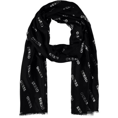 Afbeelding van Guess AW8126VIS03 dames sjaal zwart