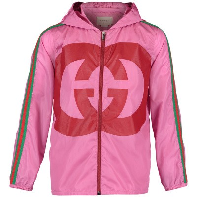 Picture of Gucci 543976 kids jacket pink