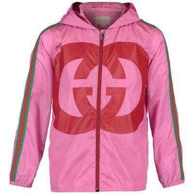 Afbeelding van Gucci 543976 kinderjas roze