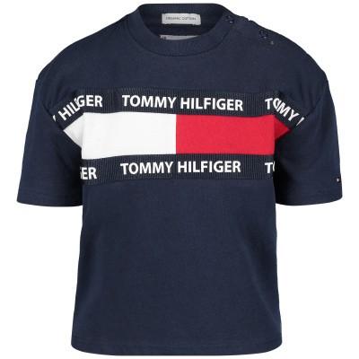 Picture of Tommy Hilfiger KS0KS00036B baby shirt navy