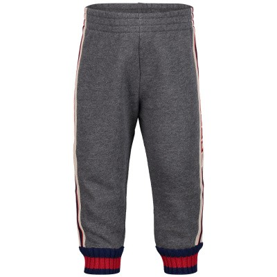 Picture of Gucci 497808 baby shorts grey