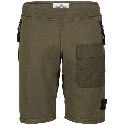 Picture of Stone Island 701660240 kids shorts army