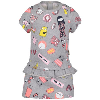 Picture of Marc Jacobs W02127 baby dress grey
