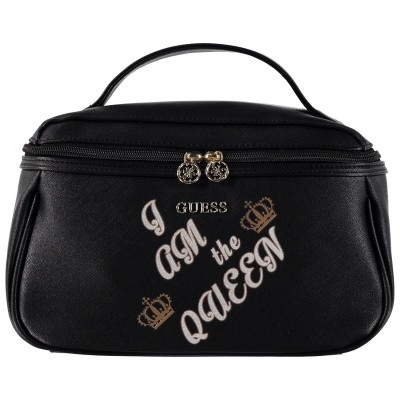Picture of Guess PWBEQUP8416 womens accessory black