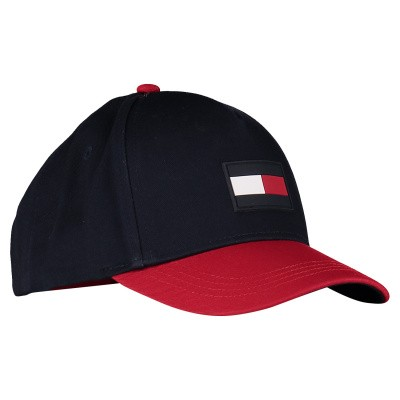 Picture of Tommy Hilfiger AU0AU00553 kids cap navy